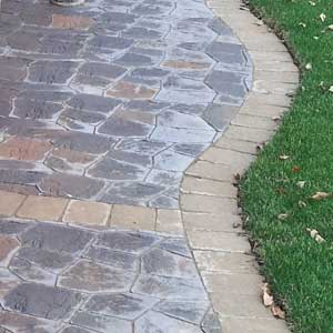 landscape paver project in Apple Valley MN
