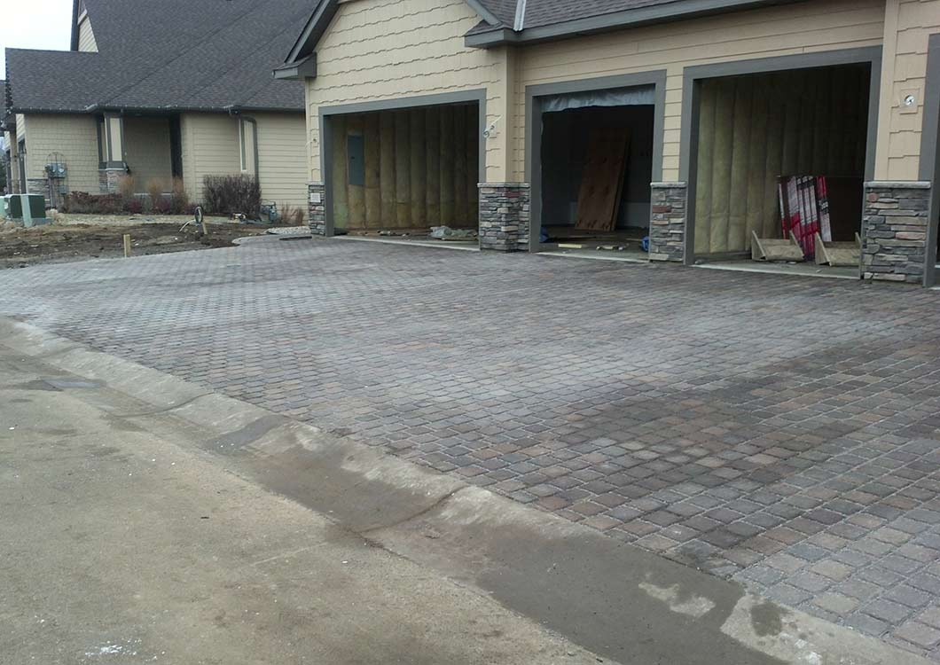 Paver driveways in Burnsville MN