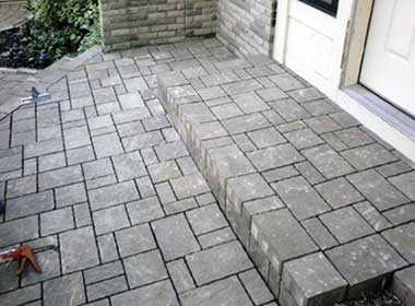 paver patio helps sell a home